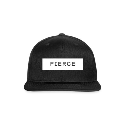 Fierce Snapback - Snap-back Baseball Cap