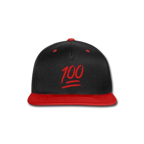 Keep it 100 Snapback - Snap-back Baseball Cap