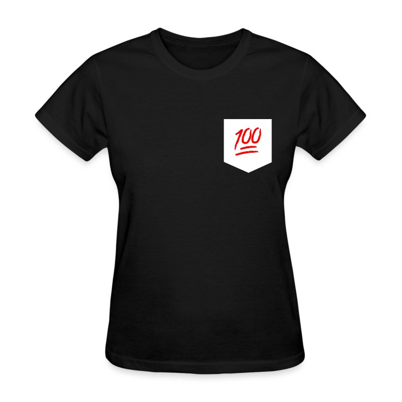 Keep it 100 Pocket Tee - Women's T-Shirt