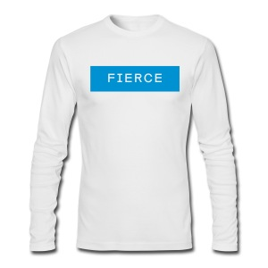 Fierce Long Sleeve Tee - Men's Long Sleeve T-Shirt by Next Level