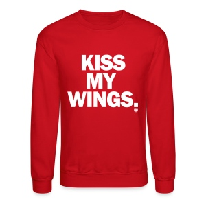 Kiss My Wings - Crewneck Sweatshirt
