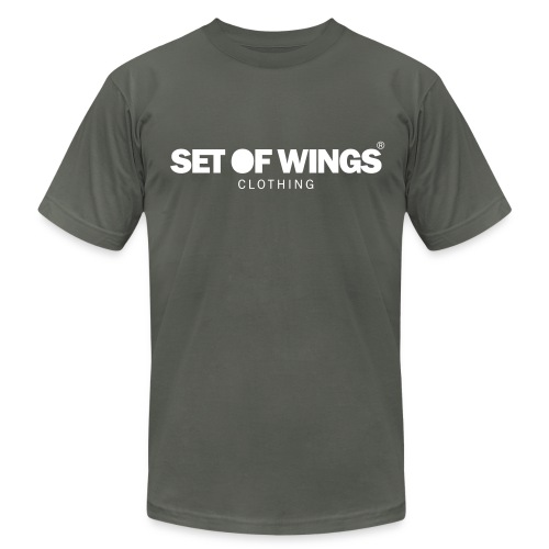 SET OF WINGS - Men's Fine Jersey T-Shirt