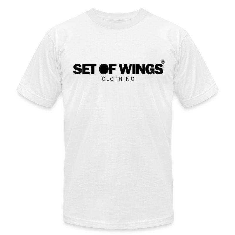 SET OF WINGS - Men's Fine Jersey T-Shirt