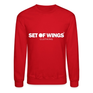 SET OF WINGS - Crewneck Sweatshirt