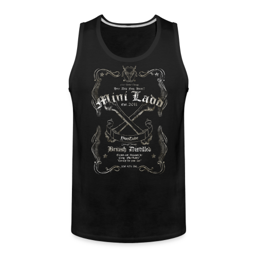 Mini Ladd Whiskey Tank - Men's Premium Tank
