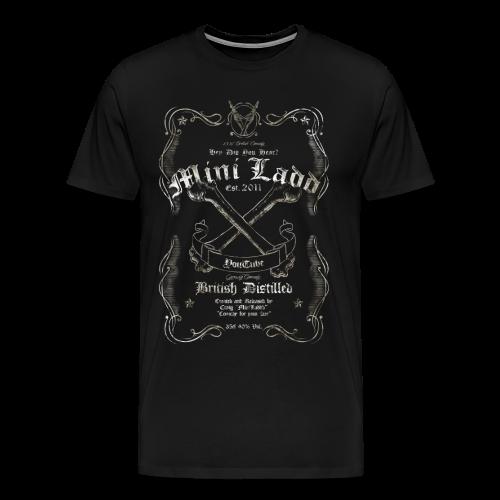 Mini Ladd Whiskey Mens - Men's Premium T-Shirt