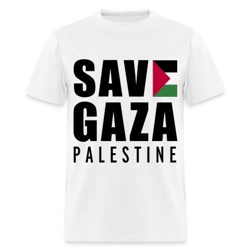 SAVE GAZA MEN'S SHIRT - Men's T-Shirt