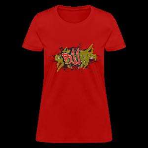 Jiu Jitsu - BJJ Graffiti - TC - Women's T-Shirt