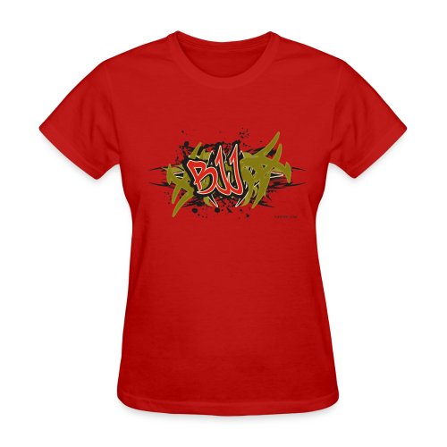 Jiu Jitsu - BJJ Graffiti - TC - Women's T-Shirt