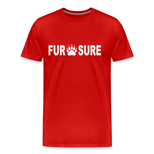 Men's Fur Sure T-Shirt - Men's Premium T-Shirt