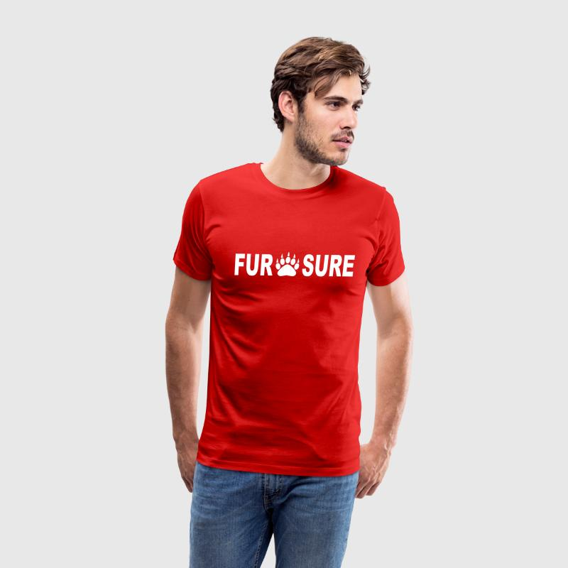 FUR SURE T-Shirts - Men's Premium T-Shirt