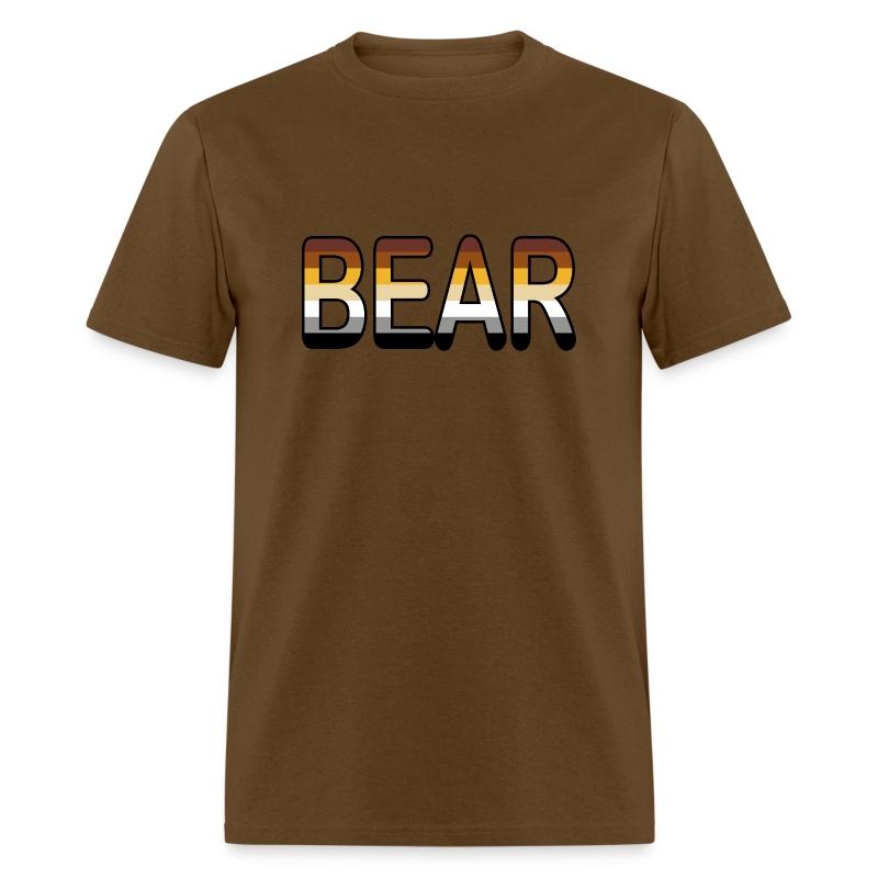 Bear pride t shirt spreadshirt for Bear river workwear shirts