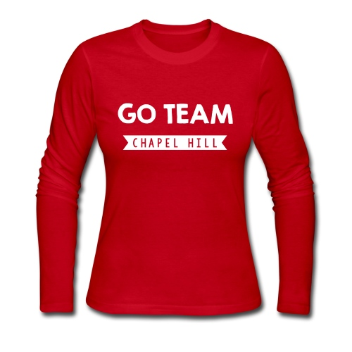 Go Team - Women's Long Sleeve Jersey T-Shirt