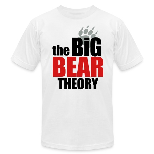The Big Bear Theory Tee Shirt - Men's  Jersey T-Shirt