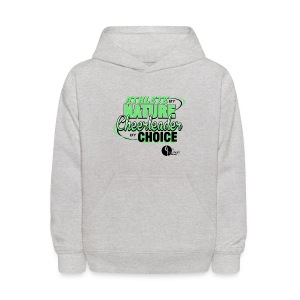 Athlete by Nature, Cheerleader by Choice - Kids' Hoodie