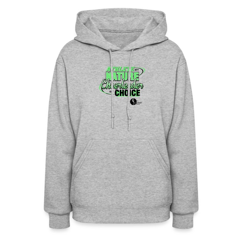 Athlete by Nature, Cheerleader by Choice - Women's Hoodie