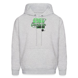Athlete by Nature, Cheerleader by Choice - Men's Hoodie