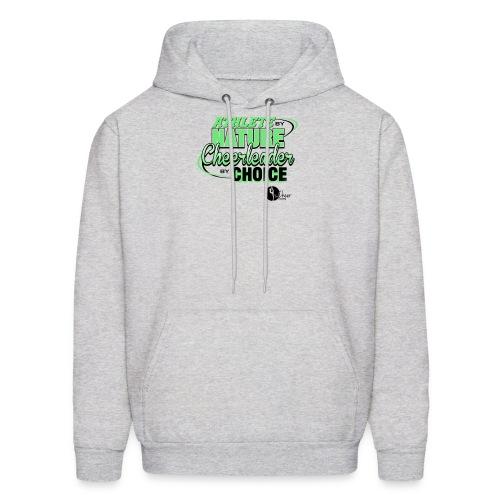 Athlete by Nature, Cheerleader by Choice - Men's Hoodie