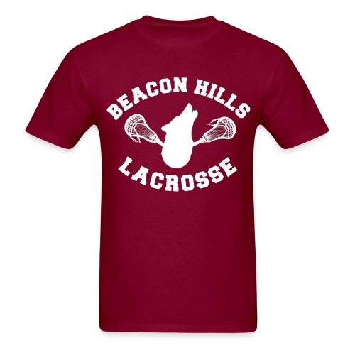 Beacon Hills Lacrosse Tee Lahey 14 - Men's T-Shirt