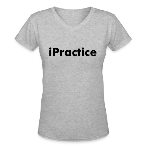 iPrac V neck - Women's V-Neck T-Shirt