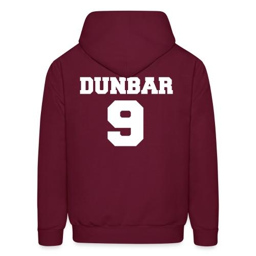Dunbar 9 w/o Beacon Hills Lacrosse on front - Men's Hoodie