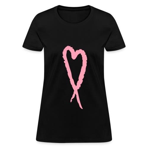 NATURAL HEART SISTAH HEART T-SHIRT - Women's T-Shirt