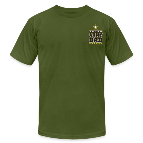 Proud ARMY DAD Tee - Men's Fine Jersey T-Shirt