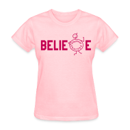 T-Shirts ~ Women's T-Shirt ~ Beblieve in Physiotherapy