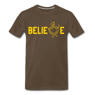 T-Shirts ~ Men's Premium T-Shirt ~ Beblieve in Physiotherapy