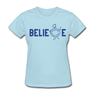 Women's T-Shirts ~ Women's T-Shirt ~ Beblieve in Physiotherapy
