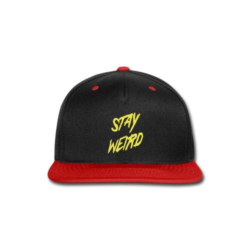 Stay Wierd Bro - Snap-back Baseball Cap