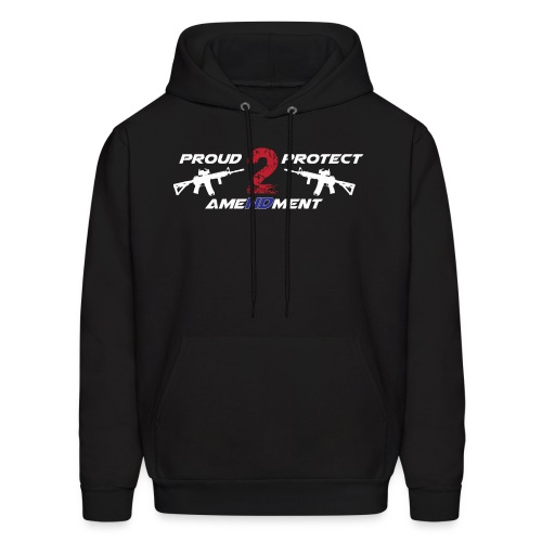 Proud 2 Protect 2nd Amendment - Men's Hoodie