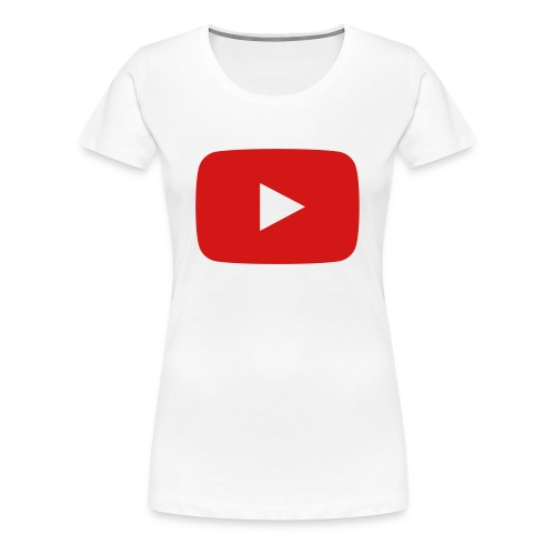 YOUTUBE! - Women's Premium T-Shirt