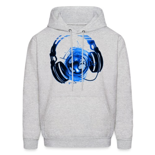 MUSIC IS LIFE! - Men's Hoodie