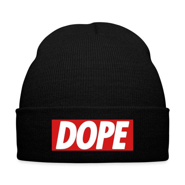 promo code a9603 7fc7f Unorthodox Clothing   Dope Beanie - Knit Cap with Cuff Print
