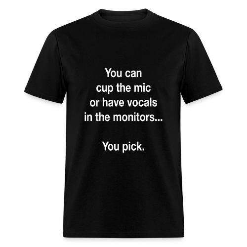 Cup The Mic Tee - Men's T-Shirt