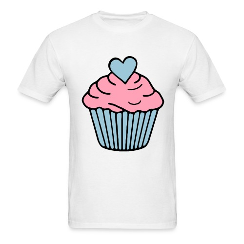 TUMBLR PASTEL CUPCAKE - Men's T-Shirt