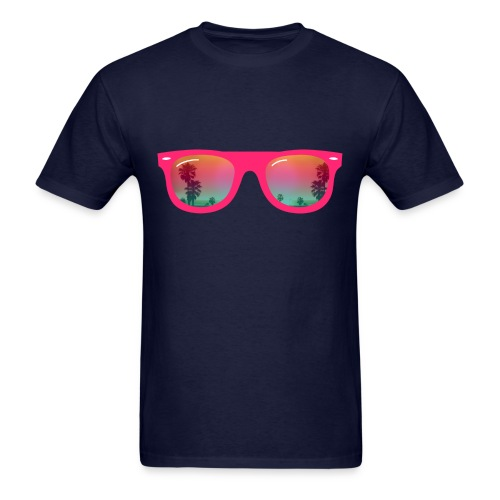 NEON SUMMER SHADES - Men's T-Shirt
