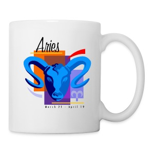 Aries Sign Ceramic Coffee Mug - Coffee/Tea Mug