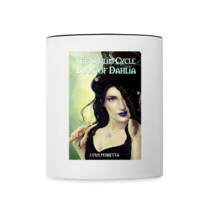 The Shulim Cycle Book of Dahlia Cover Mug - Contrast Coffee Mug