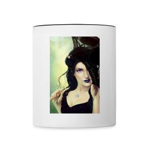 The Shulim Cycle Book of Dahlia Cover Art Mug - Contrast Coffee Mug
