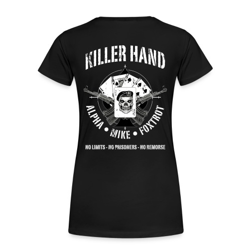 Army - Killer Hand Tee - Women's Premium T-Shirt