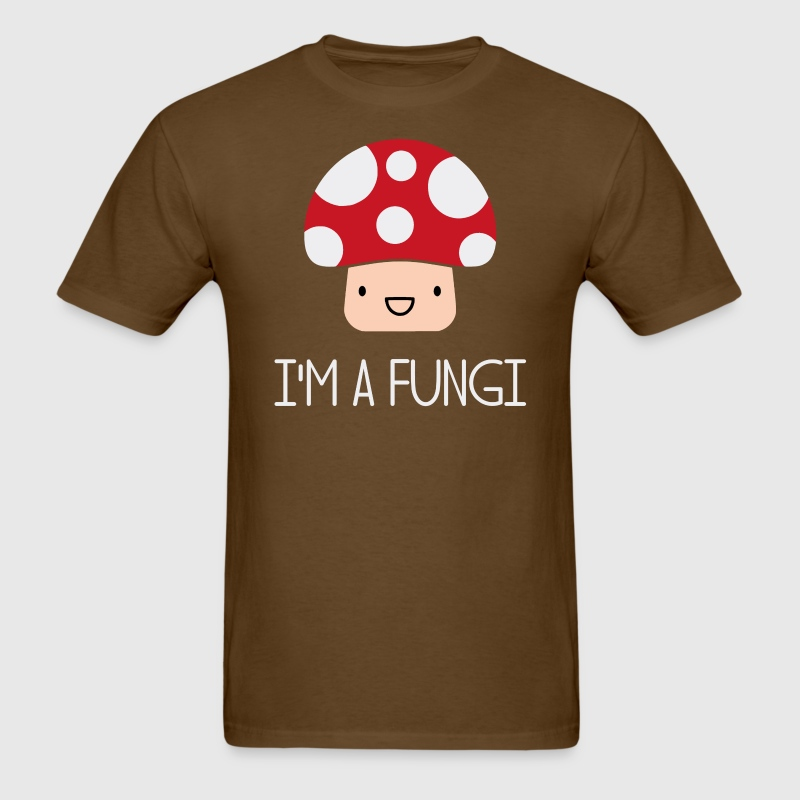 I'm a Fungi Fun Guy Mushroom T-Shirts - Men's T-Shirt