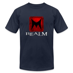 Realm Logo Tee - Men's T-Shirt by American Apparel