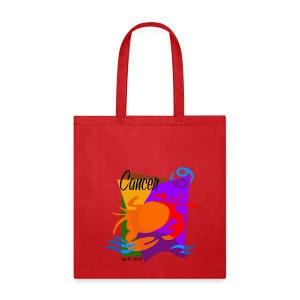 Cancer Sign Canvas Tote Bag - Tote Bag