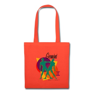 Gemini Sign Canvas Tote Bag - Tote Bag