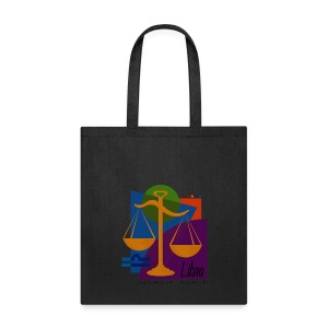 Libra Sign Canvas Tote Bag - Tote Bag