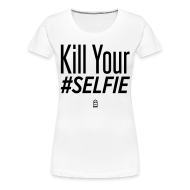 Women's T-Shirts ~ Women's Premium T-Shirt ~ #SELFIE