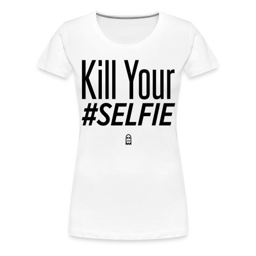 #SELFIE - Women's Premium T-Shirt