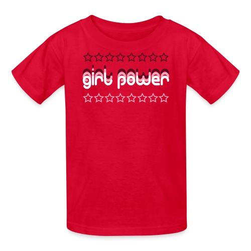 Girl Power Kid's T-Shirt - Kids' T-Shirt